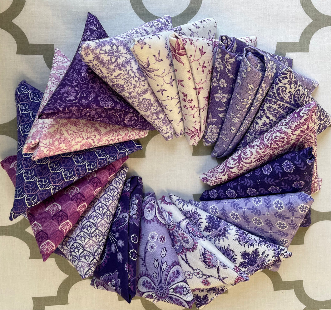 Lavender Fields Collection ~ Fat Quarters Assortment
