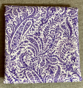 Marianne Paisley Purple ~ Fabric By The Yard / Half Yard/ Fat Quarter