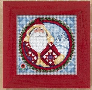 Cross Stitch Kit ~ Kris Kringle