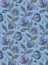 Load image into Gallery viewer, Orleans Blue ~ Fabric By The Yard / Half Yard/ Fat Quarter