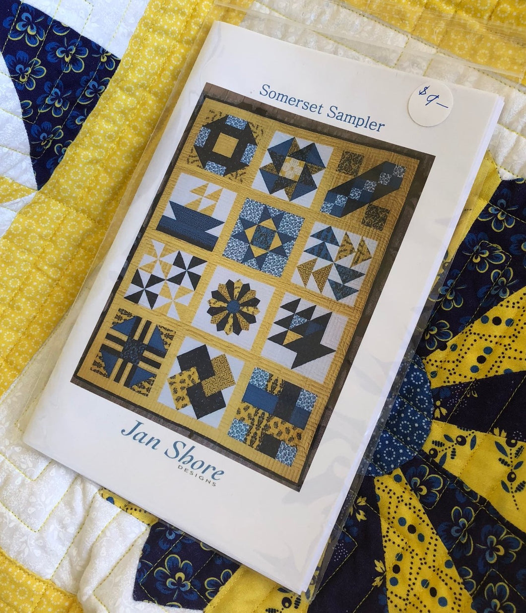 Somerset Collection by Jan Shore ~ Sampler Quilt Pattern