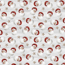 Load image into Gallery viewer, River's End Collection Jolly Santa Cloud ~ Fabric By The Yard