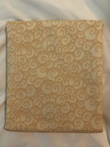 Awaken The Day Collection Swirls Honey ~ Fabric By The Yard