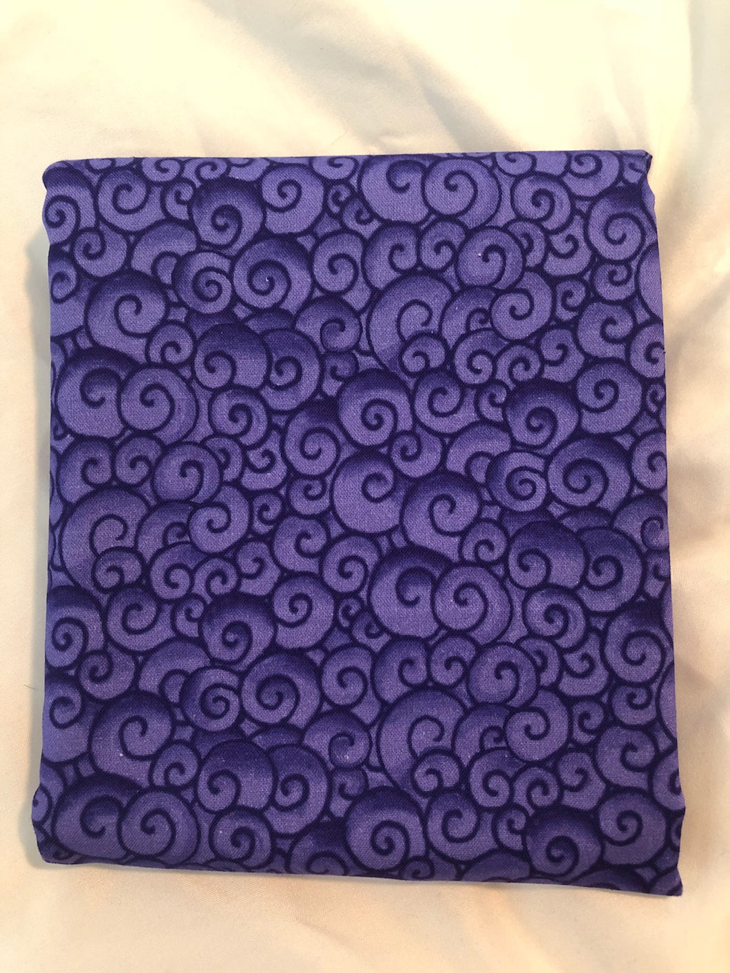 Awaken The Day Collection Swirls Purple ~ Fabric By The Yard