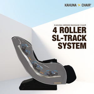 Kahuna HM-5000 Slender Style SL-Track Massage Chair