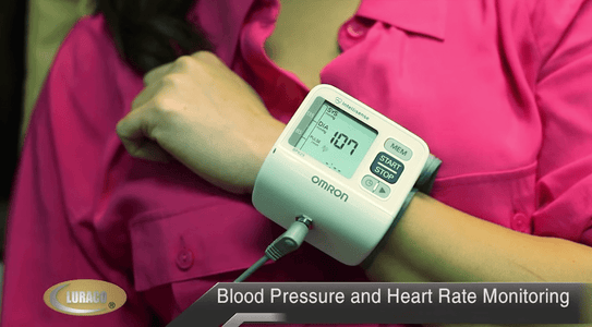 Luraco Accessories Blood Pressure and Heart Rate Monitor
