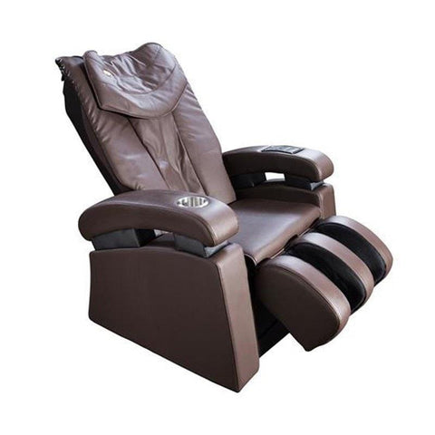 Image of Luraco Massage Chair Chocolate Brown / White Glove Service (Shipping & Setup) $250 / Standard-Free Luraco Sofy Commercial Massage Chair