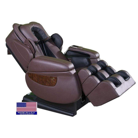 Image of Luraco Massage Chair Chocolate / White Glove Service (Shipping & Setup) $250 / 2 Year Extended Warranty for i7 $395 Luraco iRobotics 7 Plus Massage Chair
