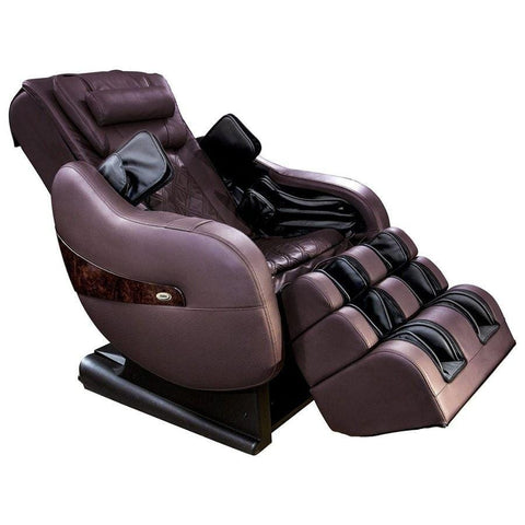 Image of Luraco Massage Chair Chocolate / White Glove Service (Shipping & Setup) $250 / FREE 5 Year Warranty Luraco Legend Plus Massage Chair