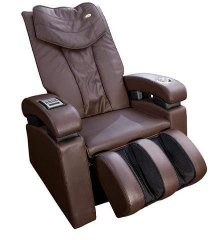 Image of Luraco Massage Chair Chocolate / White Glove Service (Shipping & Setup) $250 / FREE 5 Year Warranty Luraco Sofy Massage Chair