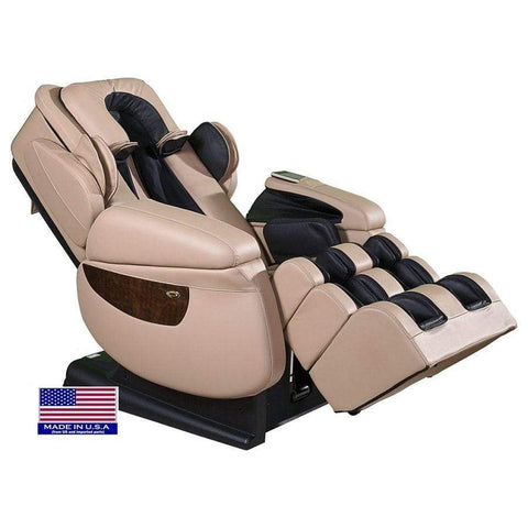 Image of Luraco Massage Chair Cream / White Glove Service (Shipping & Setup) $250 / 2 Year Extended Warranty for i7 $395 Luraco iRobotics 7 Plus Massage Chair