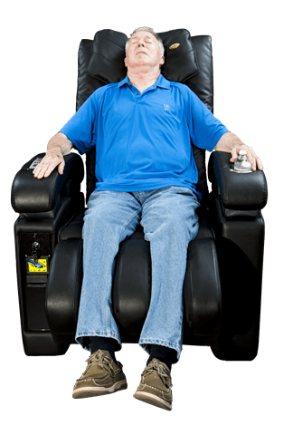 Image of Luraco Massage Chair Luraco Sofy Commercial Massage Chair