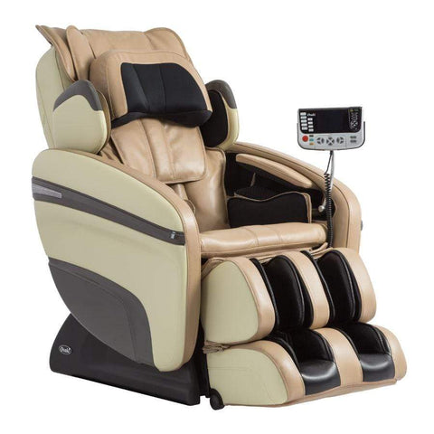 Osaki Massage Chair Beige / Curbside Delivery - Free / FREE 2 YEAR EXTENDED WARRANTY (5 YEARS TOTAL) Osaki OS-7200H Pinnacle Massage Chair