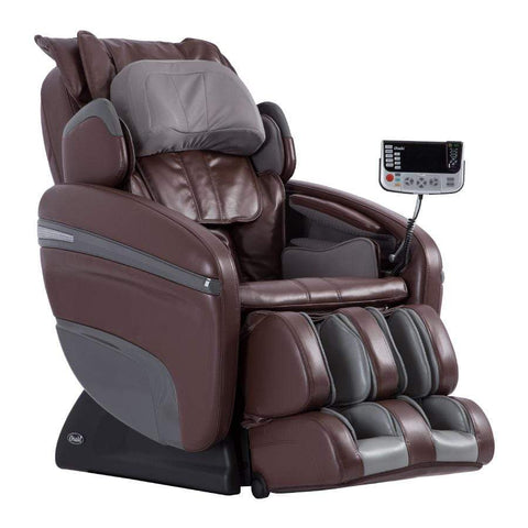 Osaki Massage Chair Brown / Curbside Delivery - Free / FREE 2 YEAR EXTENDED WARRANTY (5 YEARS TOTAL) Osaki OS-7200H Pinnacle Massage Chair