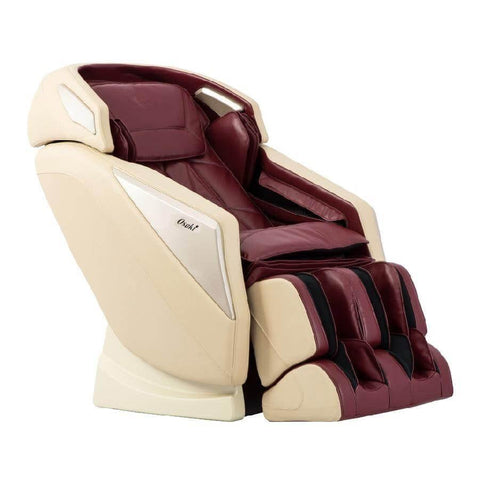 Image of Osaki Massage Chair Burgundy / Curbside Delivery-Free / FREE 2 YEAR EXTENDED WARRANTY (5 YEARS TOTAL) Osaki OS-Pro Omni Massage Chair
