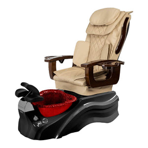 Osaki Pedicure Chair Base Beige / Black / Burgundy / Without Jet FREE Elina & Vent Primo Base Set