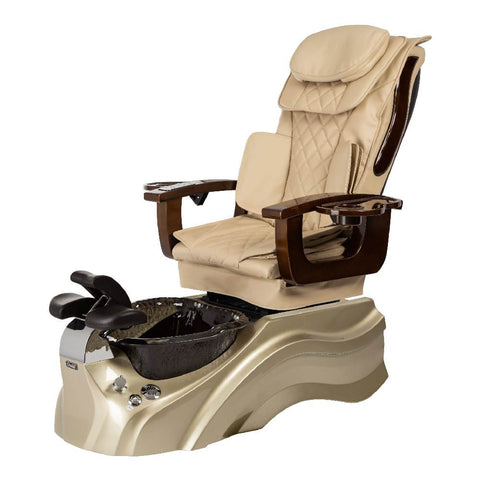 Image of Osaki Pedicure Chair Base Beige / Rosegold / Black Clear / Without Jet FREE Elina & Vent Primo Base Set
