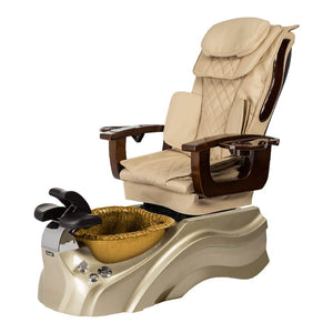Osaki Pedicure Chair Base Beige / Rosegold / Golden / Without Jet FREE Elina & Vent Primo Base Set