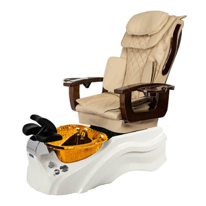 Osaki Pedicure Chair Base Beige / White / Amber Clear / Without Jet FREE Elina & Vent Primo Base Set