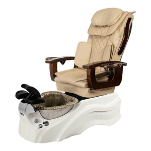 Osaki Pedicure Chair Base Beige / White / Silver / Without Jet FREE Elina & Vent Primo Base Set