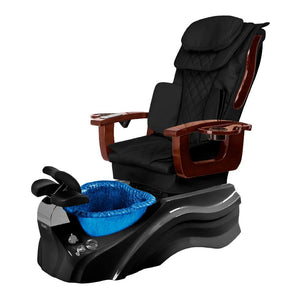 Osaki Pedicure Chair Base Black / Black / Dark Blue / Without Jet FREE Elina & Vent Primo Base Set