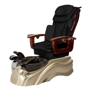 Osaki Pedicure Chair Base Black / Rosegold / Black Clear / Without Jet FREE Elina & Vent Primo Base Set