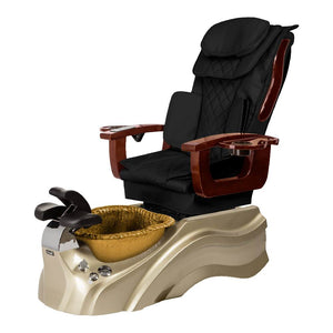 Osaki Pedicure Chair Base Black / Rosegold / Golden / Without Jet FREE Elina & Vent Primo Base Set