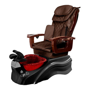 Osaki Pedicure Chair Base Brown / Black / Burgundy / Without Jet FREE Elina & Vent Primo Base Set