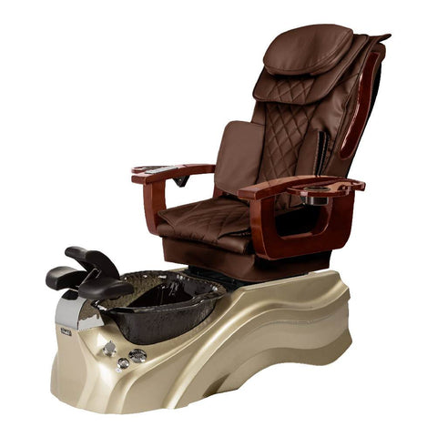 Image of Osaki Pedicure Chair Base Brown / Rosegold / Black Clear / Without Jet FREE Elina & Vent Primo Base Set