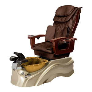 Osaki Pedicure Chair Base Brown / Rosegold / Golden / Without Jet FREE Elina & Vent Primo Base Set