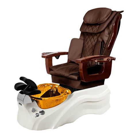Image of Osaki Pedicure Chair Base Brown / White / Amber Clear / Without Jet FREE Elina & Vent Primo Base Set