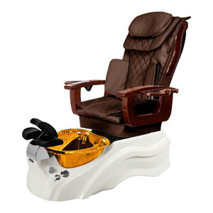 Osaki Pedicure Chair Base Brown / White / Amber Clear / Without Jet FREE Elina & Vent Primo Base Set
