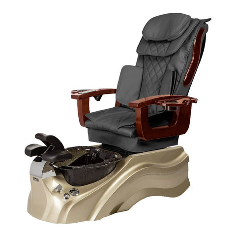 Image of Osaki Pedicure Chair Base Grey / Rosegold / Black Clear / Without Jet FREE Elina & Vent Primo Base Set