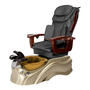 Osaki Pedicure Chair Base Grey / Rosegold / Golden / Without Jet FREE Elina & Vent Primo Base Set