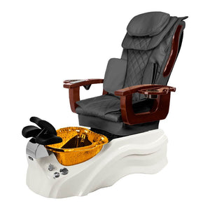 Osaki Pedicure Chair Base Grey / White / Amber Clear / Without Jet FREE Elina & Vent Primo Base Set