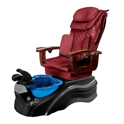 Image of Osaki Pedicure Chair Base Wine / Black / Dark Blue / Without Jet FREE Elina & Vent Primo Base Set
