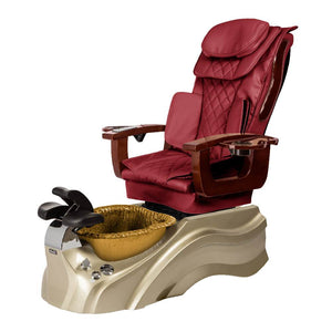 Osaki Pedicure Chair Base Wine / Rosegold / Golden / Without Jet FREE Elina & Vent Primo Base Set