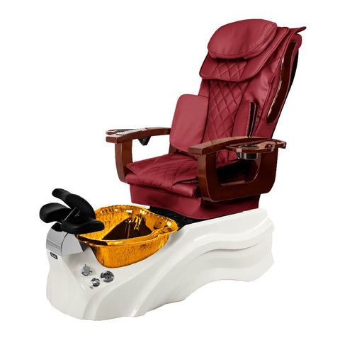 Image of Osaki Pedicure Chair Base Wine / White / Amber Clear / Without Jet FREE Elina & Vent Primo Base Set
