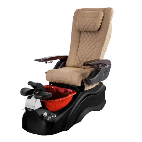 Osaki Pedicure Chairs Beige / Black / Burgundy / With Jet Free OS-Primo With Base