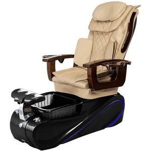 Osaki Pedicure Chairs Beige / Black / Without Jet FREE Elina with Tom Spa Base