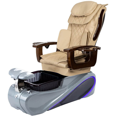 Osaki Pedicure Chairs Beige / Grey / Without Jet FREE Elina with Tom Spa Base