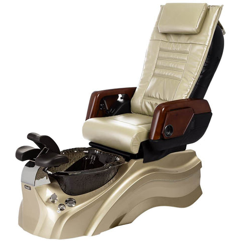Image of Osaki Pedicure Chairs Beige / Primo with Vent Gold / Black / With Jet Free OS-OP-05 with Primo Base Set