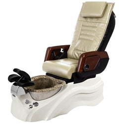 Osaki Pedicure Chairs Beige / Primo with Vent White / Silver / With Jet Free OS-OP-05 with Primo Base Set