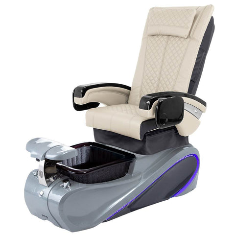 Image of Osaki Pedicure Chairs Beige / Without Jet / Tom Spa Grey Lulu with Tom Spa Base