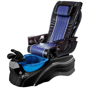 Osaki Pedicure Chairs Black / Blue / Primo with Vent Black / Blue / With Jet Free OS-OP-04 with Base Set