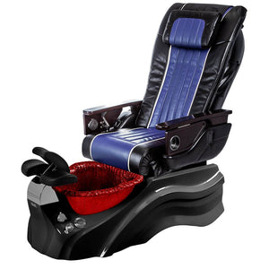 Osaki Pedicure Chairs Black / Blue / Primo with Vent Black / Red / With Jet Free OS-OP-04 with Base Set