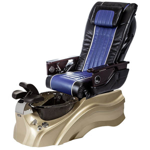 Osaki Pedicure Chairs Black / Blue / Primo with Vent Gold / Black / With Jet Free OS-OP-04 with Base Set