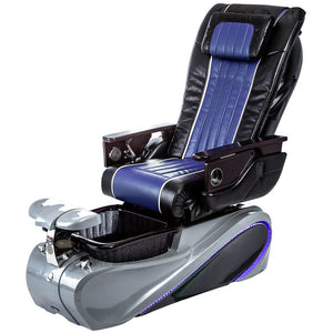 Osaki Pedicure Chairs Black / Blue / Tom Spa Grey / With Jet Free OS-OP-04 with Base Set