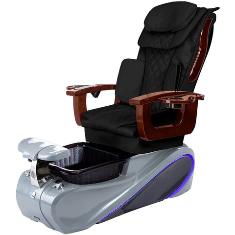 Image of Osaki Pedicure Chairs Black / Grey / Without Jet FREE Elina with Tom Spa Base