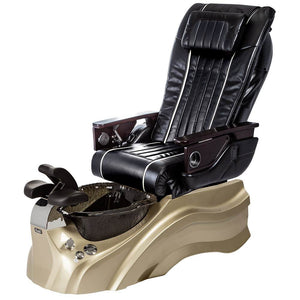 Osaki Pedicure Chairs Black / Primo with Vent Gold / Black / With Jet Free OS-OP-04 with Base Set